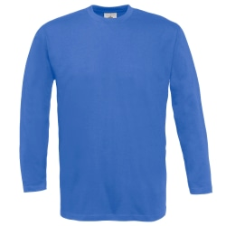 B&C Mens Exact 150 LSL långärmad T-shirt med Crew Neck S Kun