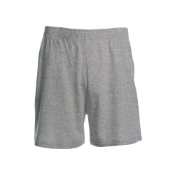 B&C Mens Move Knälängd Sport Shorts XL Svart