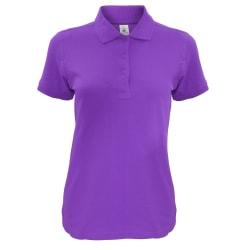 B&C Safran tidlös poloskjorta för damer / damer XS Lila