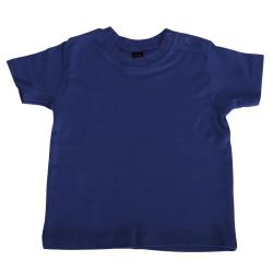Babybugz Baby kortärmad T-shirt 12-18 Nautical Navy