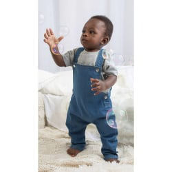 Babybugz Baby Rocks Denim Dungarees 12-18 Months Denim blå