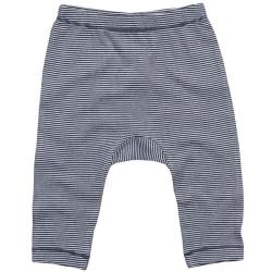 Babybugz Baby Stripy Jersey Leggings 12/18 Months Vit / nautisk