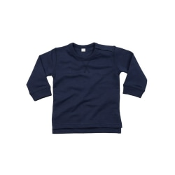 Babybugz Baby unisex bomullsrik tröja 12-18 Months Nautical Navy