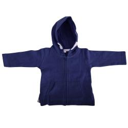 Babybugz Unisex Baby Full Zip Brushed Fleece Hoodie 2-3 Years Na