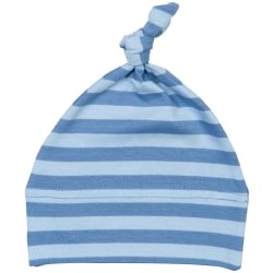 Babybugz Unisex Baby Stripy 1 Knot Hat One Size Antikblå / dammb