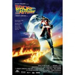 Back To The Future 108 Filmaffisch One Size Svart blå