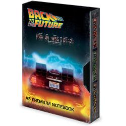 Back To The Future Stor Scott VHS A5 bärbar dator A5 Flerfärgade