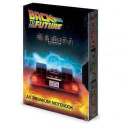 Back To The Future VHS Style Premium anteckningsbok One Size Sva