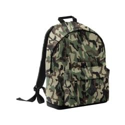 Bagbase Camouflage ryggsäck / ryggsäck (18 liter) One Size Jungl