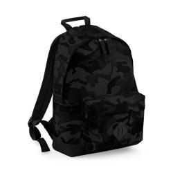 Bagbase Camouflage ryggsäck / ryggsäck (18 liter) One Size Midna