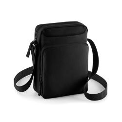 Bagbase Axelrem Cross Body Bag (2 st) One Size Svart