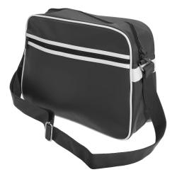 Bagbase Original Retro Axelremrem Messengerväska One Size Svart