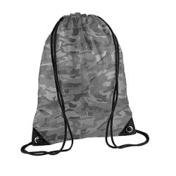 Bagbase Premium Gymsac vattenresistent väska (11 liter) (paket m