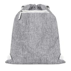 Bags2Go Miami Gymsac One Size Grå Melange / Vit