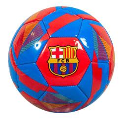Barcelona FC Minifotboll i reflexläder 1 Röd blå