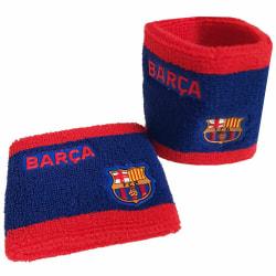 Barcelona FC Unisex vuxen tvåfärgat armband (2-pack) One Size Bl