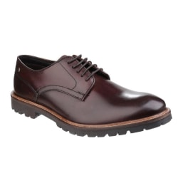 Base London Barrage Lace Up Derby Leather Shoes för herrar 8 UK
