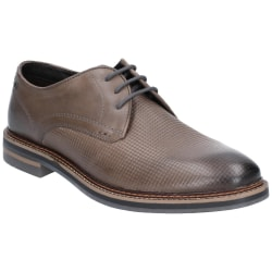 Base London Herr Blake Burnished Shoe 8 UK Grå