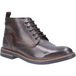 Base London Herrläder Raynor Burnished Lace Up Boot 6 UK Mörkbru