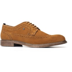 Base London Mens Onyx mocka snörning Brogue 12 UK Solbränna