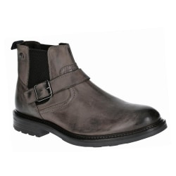 Base London Morrow Burnished Leather Chelsea Boot för herrar 8 U