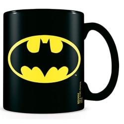 Batman Logotypmugg One Size Svart