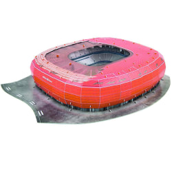 Bayern Munich FC Allianz Arena Stadium 3D-pussel One Size Röd sv