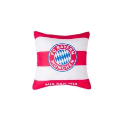 Bayern Munich FC Mia San Mia fylld kudde One Size Röd vit