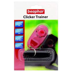 Beaphar Clicker Dog Trainer One Size Pink / Black