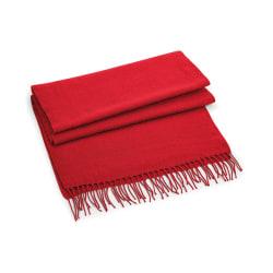 Beechfield Klassisk vävd halsduk One Size Klassisk röd