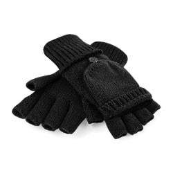 Beechfield Vuxna unisex Fliptop stickade vinterhandskar S/M Svar