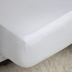 Belledorm 200 gängantal Bomull Percale Ultra Deep Fitted Sheet S
