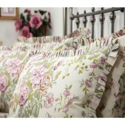 Belledorm Rose Boutique örngott (par) One Size Ivory / Pink / Gr
