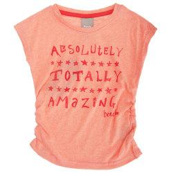 Bench Barnflickor filt tip kortärmad tryckt T-shirt 3-4 Years Ko