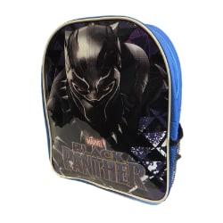 Black Panther Ryggsäck för barn / barn One Size Blå svart
