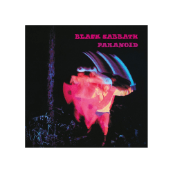Black Sabbath Paranoid kanvastryck One Size Black / Pink