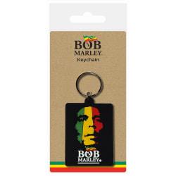 Bob Marley Nyckelring för ansikte One Size Flerfärgade