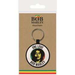 Bob Marley One Love Woven Keyring One Size Flerfärgade