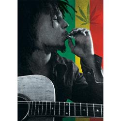 Bob Marley Rökvykort A6 Flerfärgade