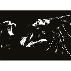 Bob Marley Vykort A6 Svart vit
