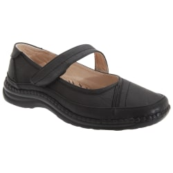 Boulevard Kvinnor / damer extra bred EEE-passande Mary Jane-skor