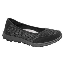 Boulevard Kvinnor / damer slip On Memory Foam Shoes 7 UK Svart Black 7 UK