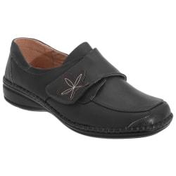 Boulevard Kvinnor / damer vidpassad touchfästning Casual skor 5