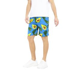 Brave Soul Sommarshorts från Avocado Print XL Blå / Avocado