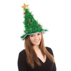Bristol Novelty Unisex julgran hatt One Size Green Green One Size