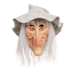 Bristol Novelty Unisex vuxna Halloween häxa Latex huvudmask med