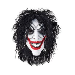 Bristol Novelty Unisex vuxna Halloween leende man gummihuvudmask