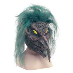 Bristol Novelty Unisex vuxna Halloween Tree Sprite Rubber Head M
