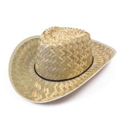 Bristol Novelty Unisex vuxna halm cowboyhatt One Size halm Straw One Size