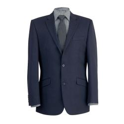 Brook Taverner Mens Zeus Suit Jacket 46 x Regular Marin